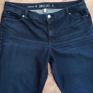 Jennifer Lopez Boot Cut Jeans Size 20W